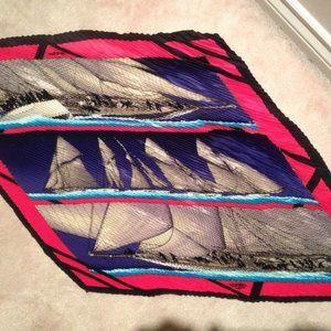 Hermes plisse scarf